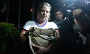 Gang leader Rosemere Aparecida Ferreira, who admitted to police that Jandyra had paid R$4,500 (£1,100) for the abortion.