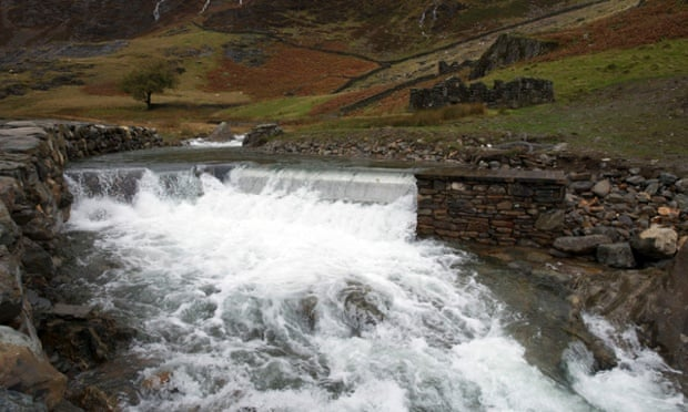 The National Trust installed a hydro power turbine on the river at Hafod y Llan farm in Snowdonia in 2014.