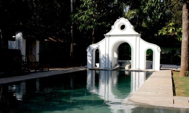 Pooling power … Vivenda Dos Palhacos, Goa