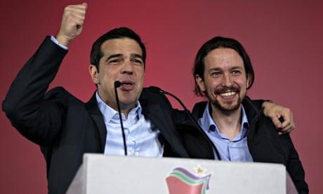 Alexis Tsipras Pablo Iglesias