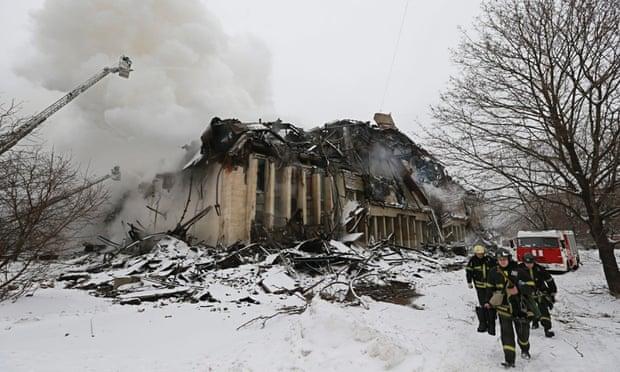 Пожар в крупной российской библиотеке уничтожил 1 миллион исторических документов