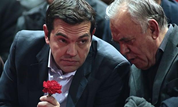 Syriza party leader Alexis Tsipras