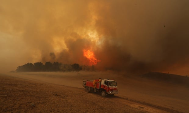 Bushfires in Wagga Wagga, New South Wales