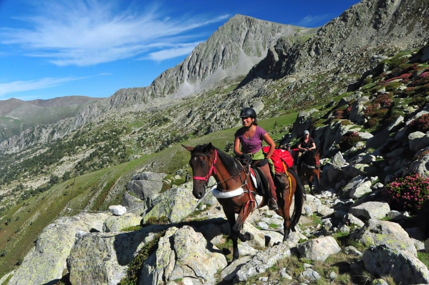 Trans Pyrenees Trail, Horse riding in Andorra