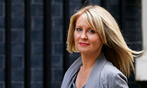 Employment minister Esther McVey.