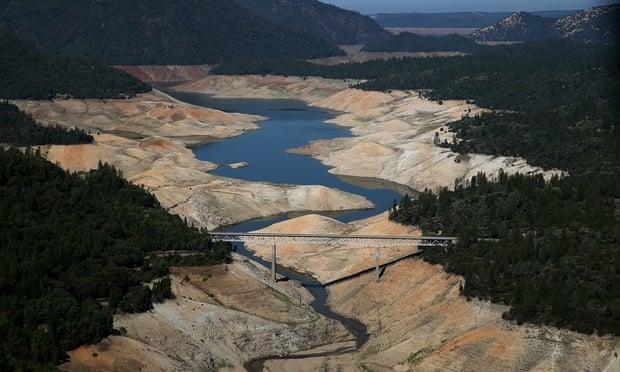 Sequía, también en la otra punta de América