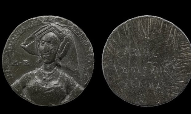 The lead Moost Happi medal, believed to be a commemorative coin and the only undisputed image of Anne Boleyn