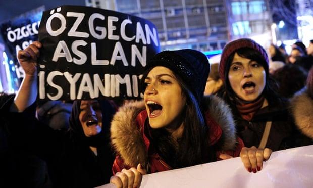 Rape and urder of woman in Turkey