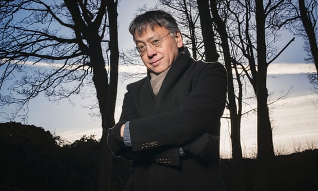 'We spend all our time wandering about local cafes' … Kazuo Ishiguro near his cottage in the Cotswolds.