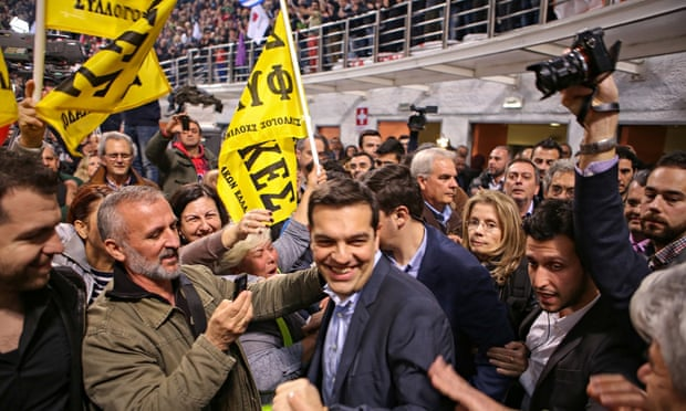 Alexis Tsipras, leader of Greek party Syriza