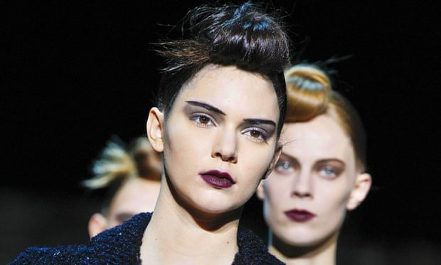 Kendall Jenner on the Marc Jacobs catwalk