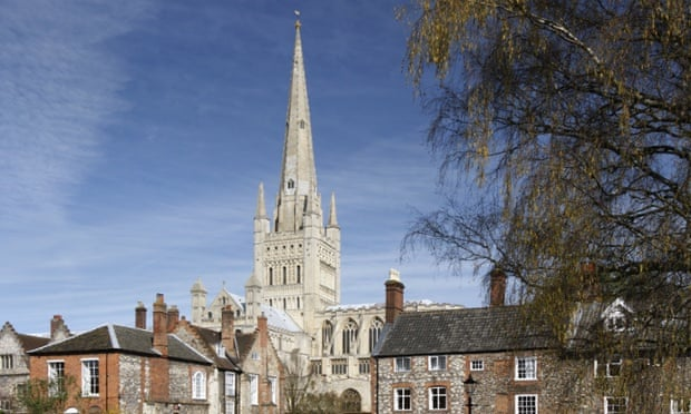 Norwich Cathedral, which is at the centre of the church's 'active service' in the city.
