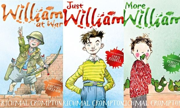New Just William covers