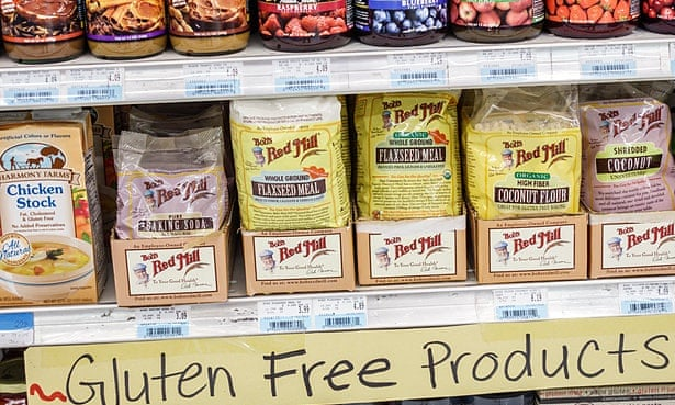 In the US nearly a quarter of all product launches have gluten-free claims. Photograph: Alamy
