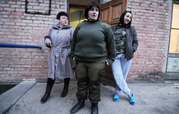 Lesya and Dasha, on the frontline in Ukraine