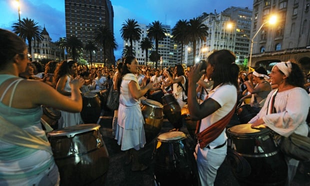 This year's theme for International Women's Day – here being celebrated in Montevideo three years ago – is Make It Happen.