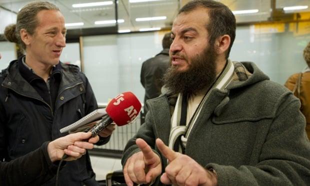 Sheikh Haitham al-Haddad (right).