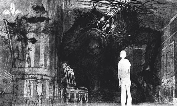 Illustration from A Monster Calls by Patrick Ness