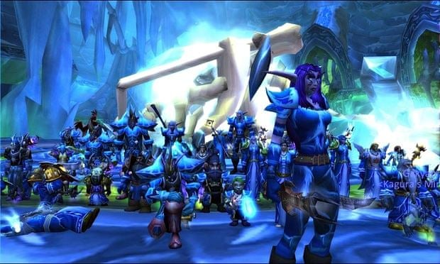 A screengrab from World of Warcraft
