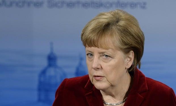 Não consigo visualizar como uma Ucrânia mais armada convenceria Putin que ele poderia perder militarmente – Merkel