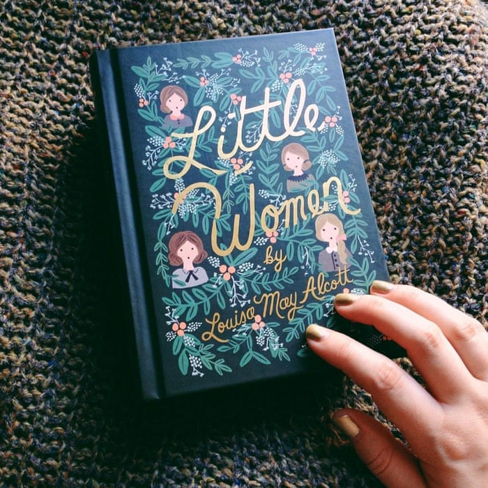 "book cover. ""Of recent purchases, this new design for Little women."" Photograph: @kitsunetsukiki"