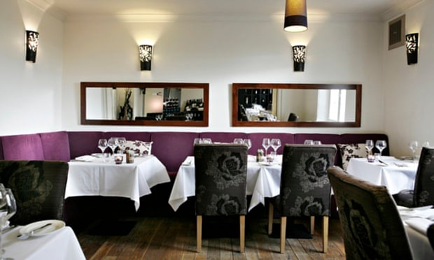 The Raby Hunt Restaurant dining room