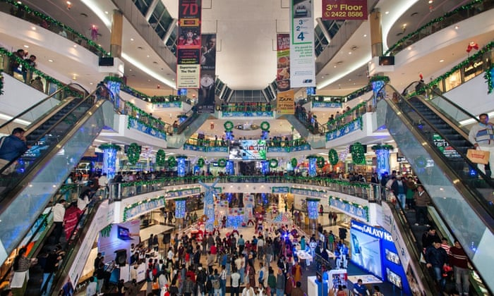 Shopping Mall, em Calcutá