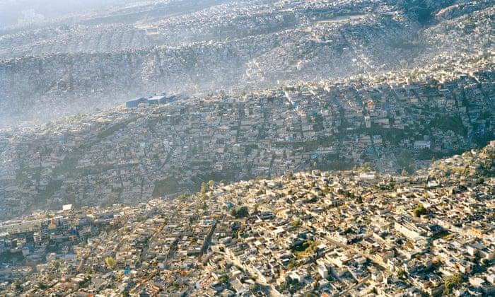 Cidade do México alastrando assentamentos