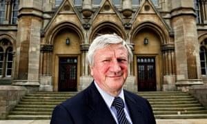Neil Gorman former vice-chancellor Nottingham Trent University