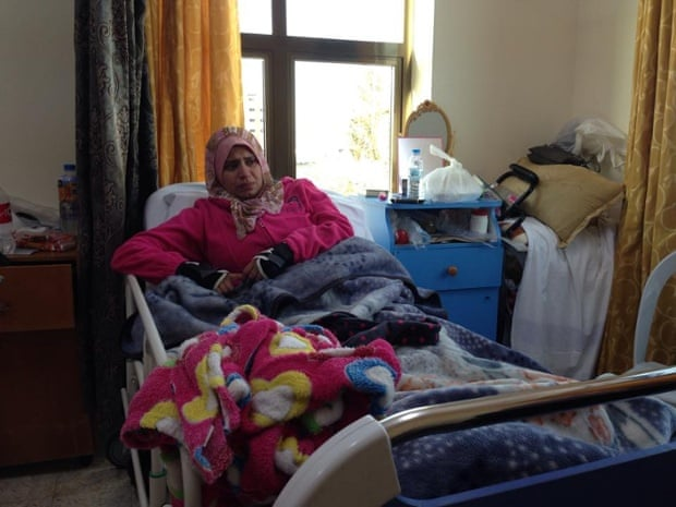 Rahma Al-Atawy is not able to continue with the medical treatment she needs to regain full use of her legs