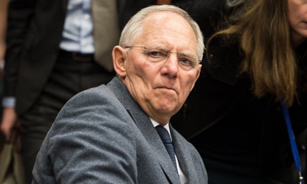 Wolfgang Schäuble, German finance minister