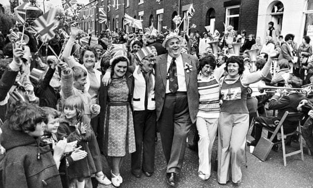 Smith Child Street Cyril Smith at a Street Party