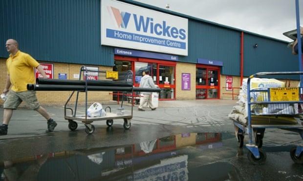 Wickes home improvement centre.