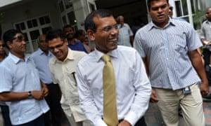 Mohamed Nasheed.