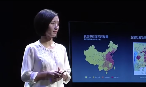China pollution video