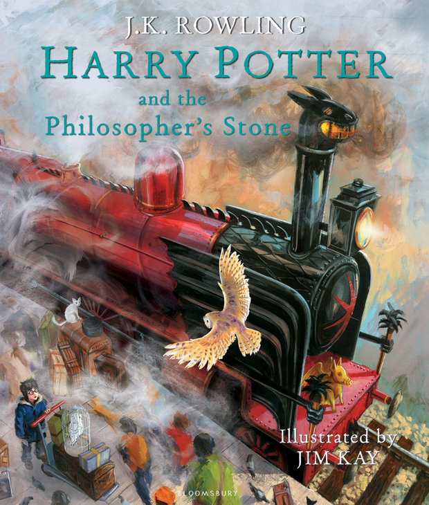 Harry Potter and the Philosopher's Stone illustrated edition by JK Rowling, illustrated by Jim Kay.