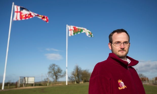 Richard Knox at the Bosworth battlefield heritage centre.