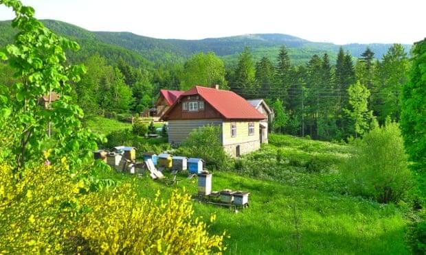 Sucha Gora log cabin, Poland