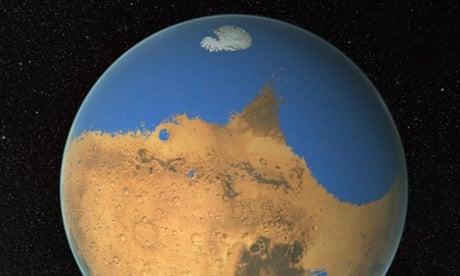 Ocean on ancient Mars