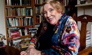 Reading e-readers wrong ... Fay Weldon. Photograph: Antonio Olmos/Antonio Olmos