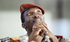 Thomas Sankara in 1986.