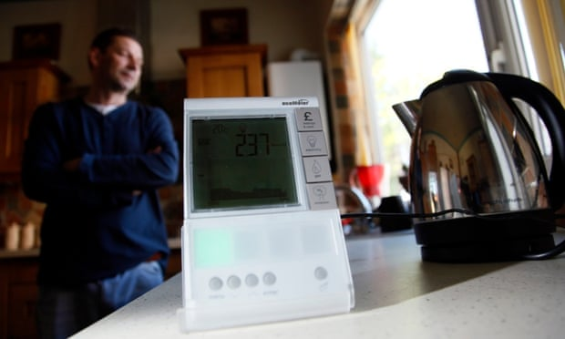 Robin Davies from Green Street, Middleton, who has used an energy smart meter for a year as part of a British Gas trial
