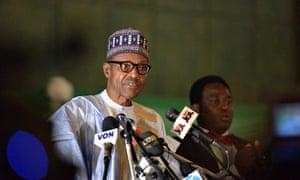 NIGERIA-ABUJA-PRESIDENT-ELECT-BUHARI