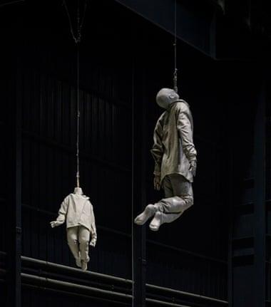 Acrobatic art … part of Double Bind & Around.