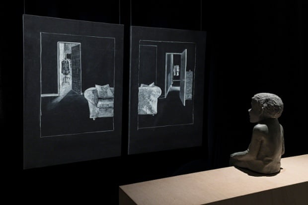 Ventriloquist Looking at a Double Interior, 1988-2000, Juan Muñoz.