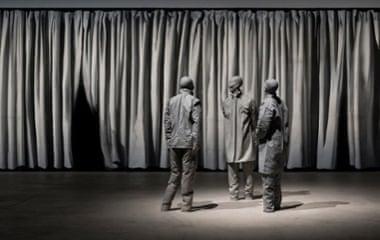 The Nature of Visual Illusion (detail), 1994-1997, Juan Muñoz.
