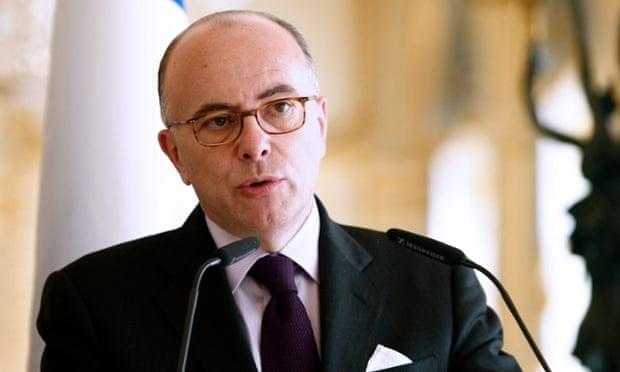 French interior minister Bernard Cazeneuve.