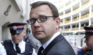 Andy Coulson, David Cameron's former communications director and ex-editor of the News of the World.