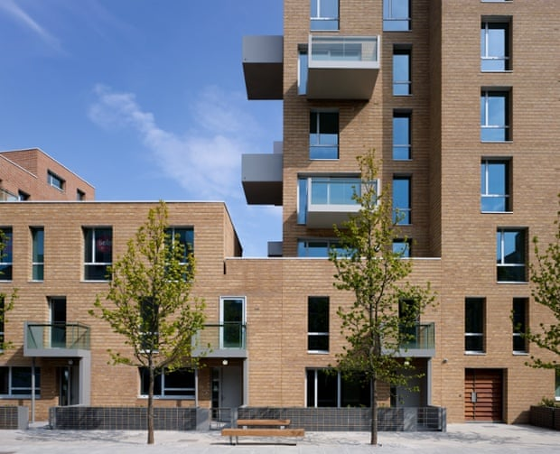 The St Andrews development in Bow – an example of 'decent, dignified' housing.