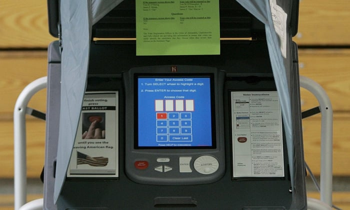 voting machine passwords